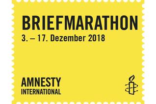 Briefmarathon: Briefe schreiben für Menschenrechte